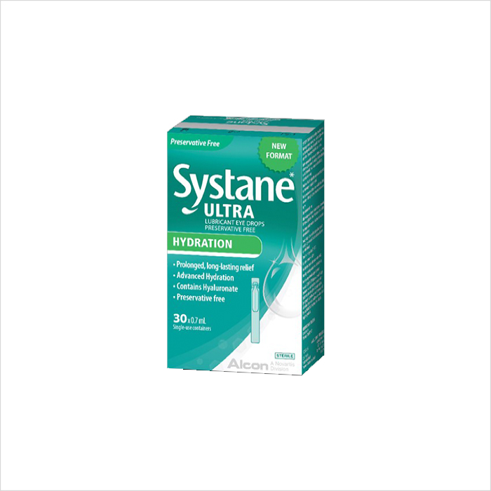 SYSTANE ULTRA HYDRATION PRESERVATIVE FREE LUBRICANT EYE DROPS